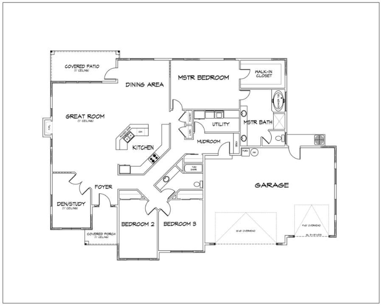 Our Floor Plans - Pacific Coast Construction Group on